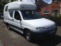 Romahome Duo Plus Citroen Berlingo with 4 Belted Seats