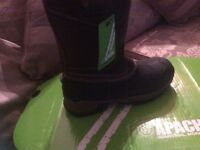 Apache industrial work boots new never worn size 7 euro 40