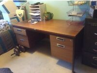 Big desk - ideal for student, home, or workshop