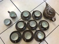 Denby Greystone Tea set