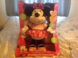 Minnie Mouse Interactive Toy - Walks/Talks/Sings/Jumps - Brand New/Unused