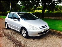 2002 02 Peugeot 307 hdi only £250