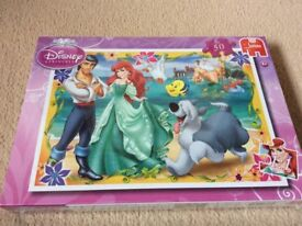 Disney princess puzzle unused