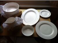 John Lewis Platinum Range Bone China Dinner Set