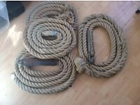 Parrot rope perches