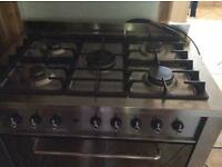 Indesit dual fuel cooker
