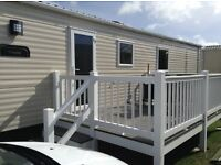 New privately owned 6 berth Caravan for hire Mullion, Cornwall