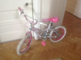 Magna Sheer Fun girl's bike - pink and silver