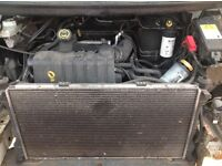 Ford transit mk6 engine and gearbox complete