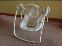 Bright Starts Comfort and Harmony Baby Rocker - excellent condition