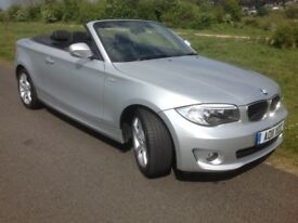 BMW 118i (2.0) Sport Conv 2dr 6SP Man 2011 (11 Reg) Price £7,500 Just been reduced to Clear!!