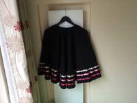 Girls RAD pink ribbon character skirt