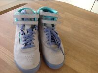 Reebok freestyle boots, size5.5, immaculate condition