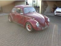 VW beetle 1300 air cooled