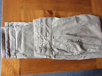 ZARA Light Khaki Womens Trousers, Great Condition Size M