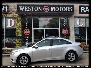 2012 Chevrolet Cruze LT*AUTO*POWER GROUP*BLUETOOTH*ALLOY WHEELS*