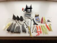 Sea fishing terminal tackle and reel