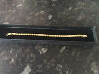 14ct Yellow sold Gold Bracelet New