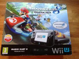 Nintendo Wii U console- 32gb premium pack with Mario Kart 8