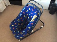 Child Carry Seat with stand for rocker