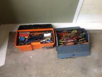 2boxes with various tools