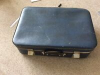 Vintage 50s/60s Suitcase. Prop. Wedding
