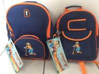 Kids LED safety flashing backpacks
