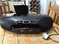 Sony CD and tape player
