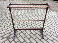 Antique towel rail