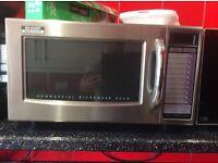 Sharp industrial microwave