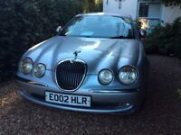 Jaguar S Type silver petrol MOT March 1400 miles drives beautifully good condition