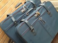 Large Green Suitcases x 2