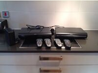 Sky box drx890, remotes and router