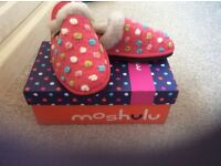 Moshulu slippers BRAND NEW