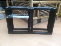 PSP GAME CASE STORAGE RACK/stands two