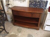 Dark wood Wills & Gambier cabinet