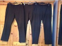 3 pair men's trousers ..by Next