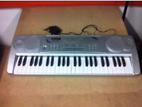 Acoustic Solutions 49 key multi function electronic keyboard MK-4100A