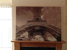 Canvass Eiffel Tower