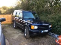 7 seater Land Rover td5,