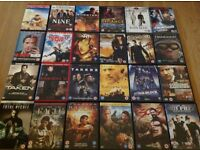 JOB LOT: DVD's & Box Sets - all genres! Region 2 - excellent condition - only £200