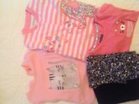Bundle baby girl clothes. 6 - 9 months