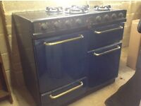 Used Belling Farmhouse Dual Fuel Range Cooker Model No 902