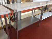 Stainless Steel Table 180cm / Restaurant