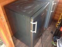 Silver/steel Hoover freezer