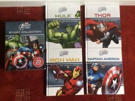 Marvel avengers assemble story collection box set books