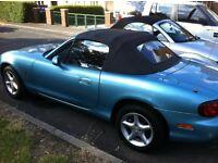 Mazda MX5 Full MOT