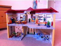 Playmobil school playset game
