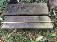 Forest Stone lintels, steps and other stone items
