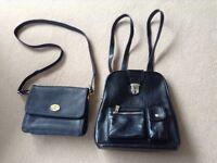 M&S Handbag & MNG Backpack